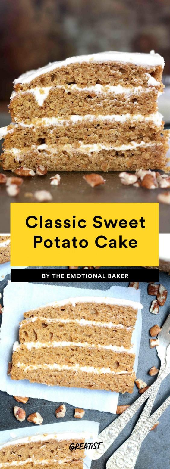Classic Sweet Potato Cake