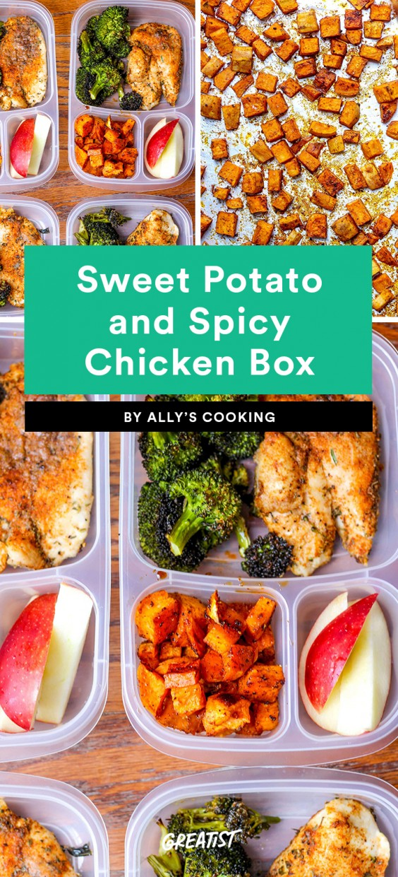 Sweet Potato and Spicy Chicken