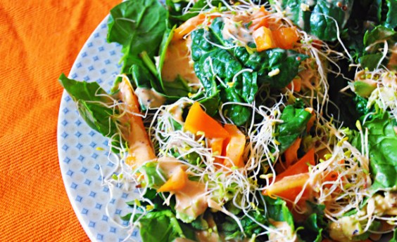Healthy Recipe: California Spinach Salad