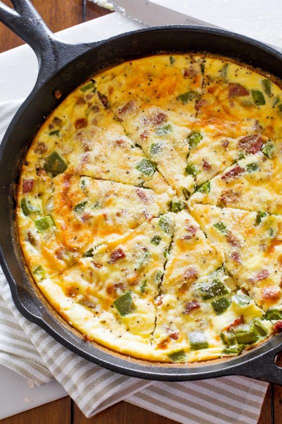 20 Gluten-Free Lunches: Cheesy Sausage Quiche