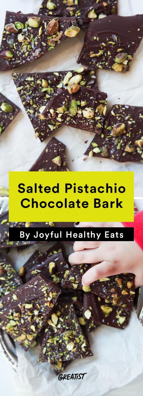 edible gifts: Chocolate Bark