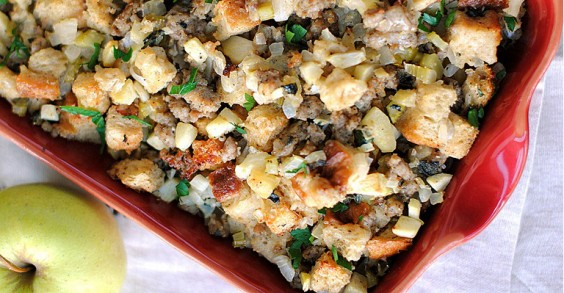 Sausage, Sage, and Apple Stuffing