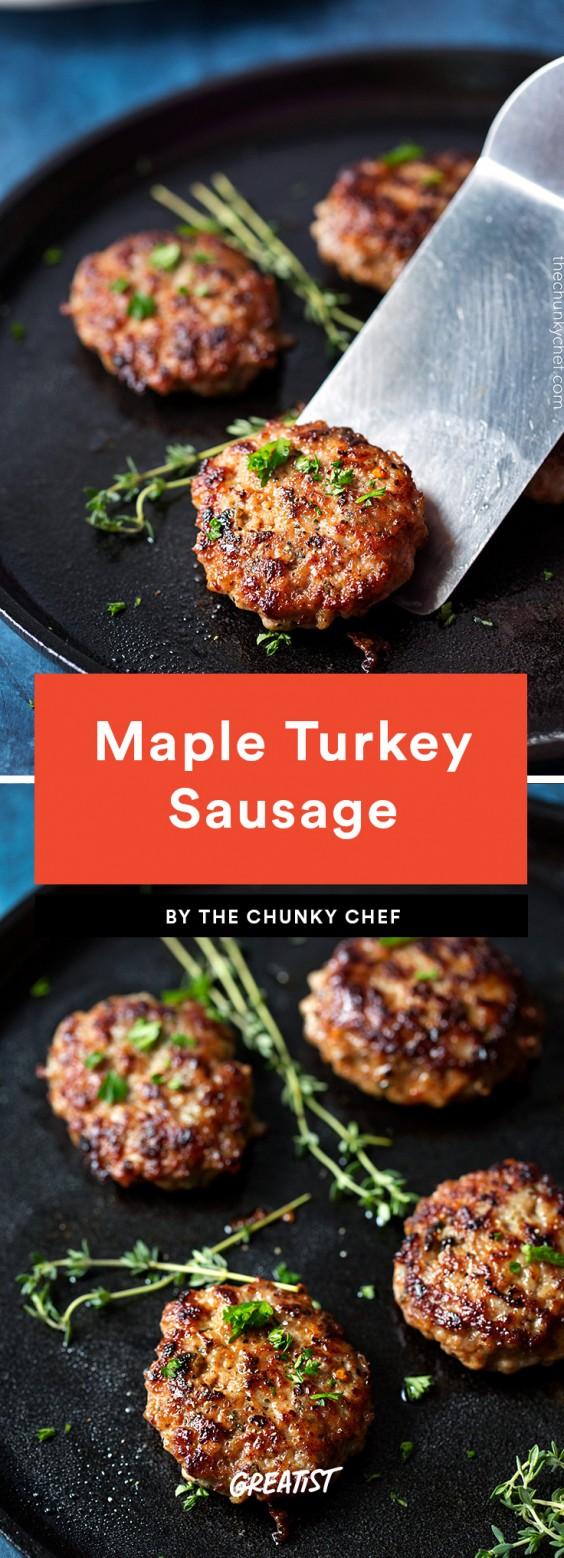 Maple Turkey Sausage