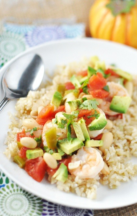 15. Shrimp and White Bean Chili Stew