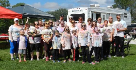 Schuster Co. Color Run