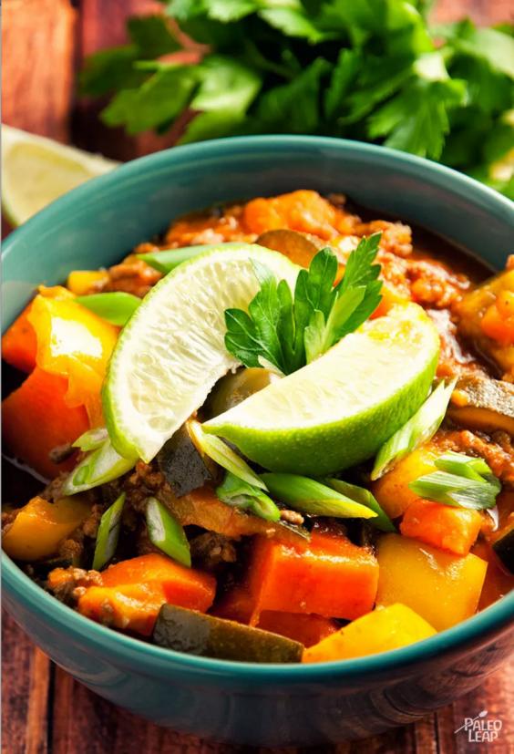 10. Thai Beef Chili