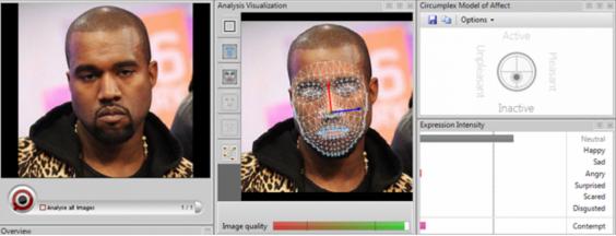 Kanye West Resting Bitch Face