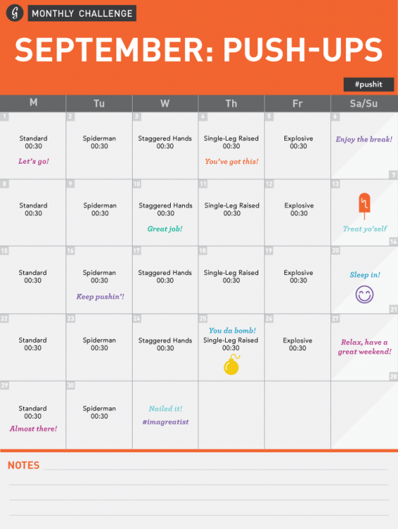 Join Greatist's 30-Day Push-Up Challenge! | Greatist