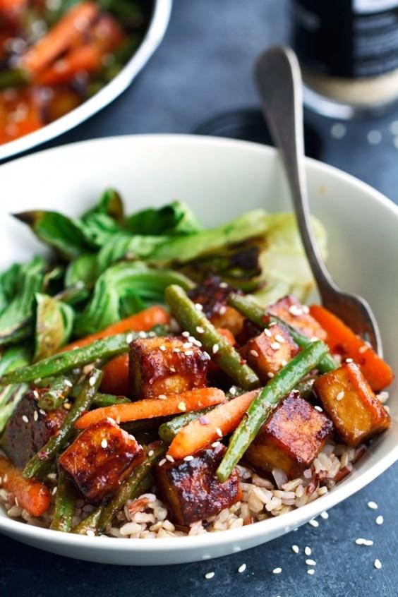 Tofu Recipes: Sesame Ginger Tofu