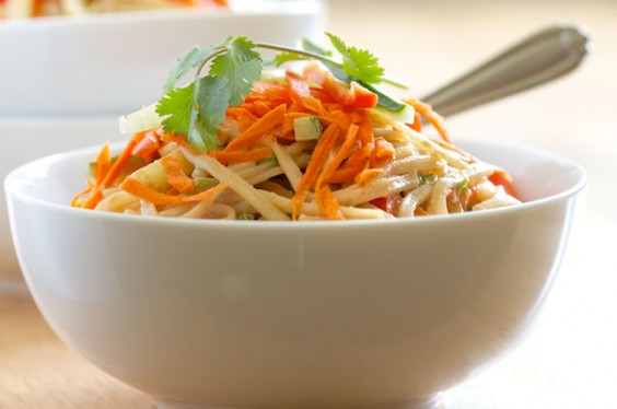 Sesame Noodles With Fresh Vegetables