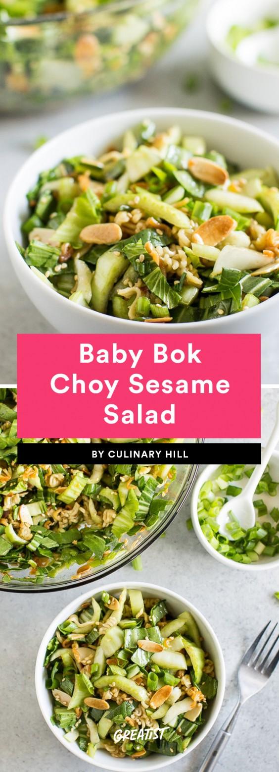 Baby Bok Choy Sesame Salad