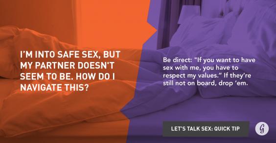 Let's Talk About Sex: Safe Sex