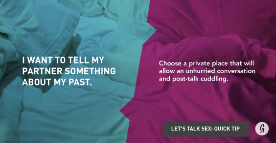 Let's Talk About Sex: Something in My Past