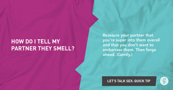 Let's Talk About Sex: Something Smells
