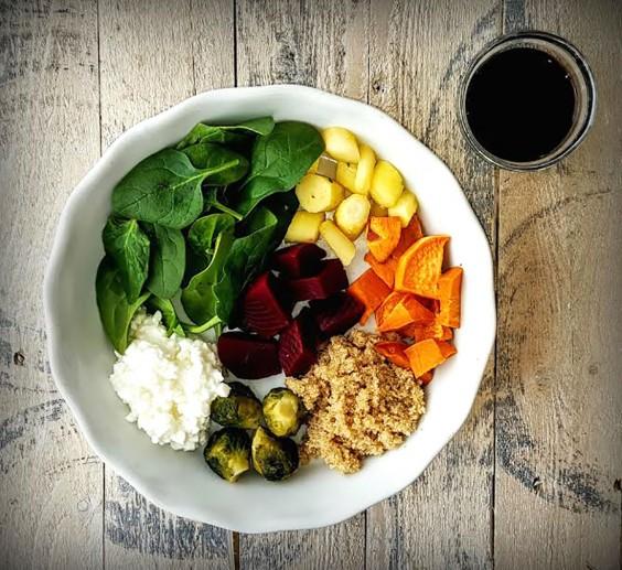 Healthy Grain Bowls: Amaranth Buddha Bowl