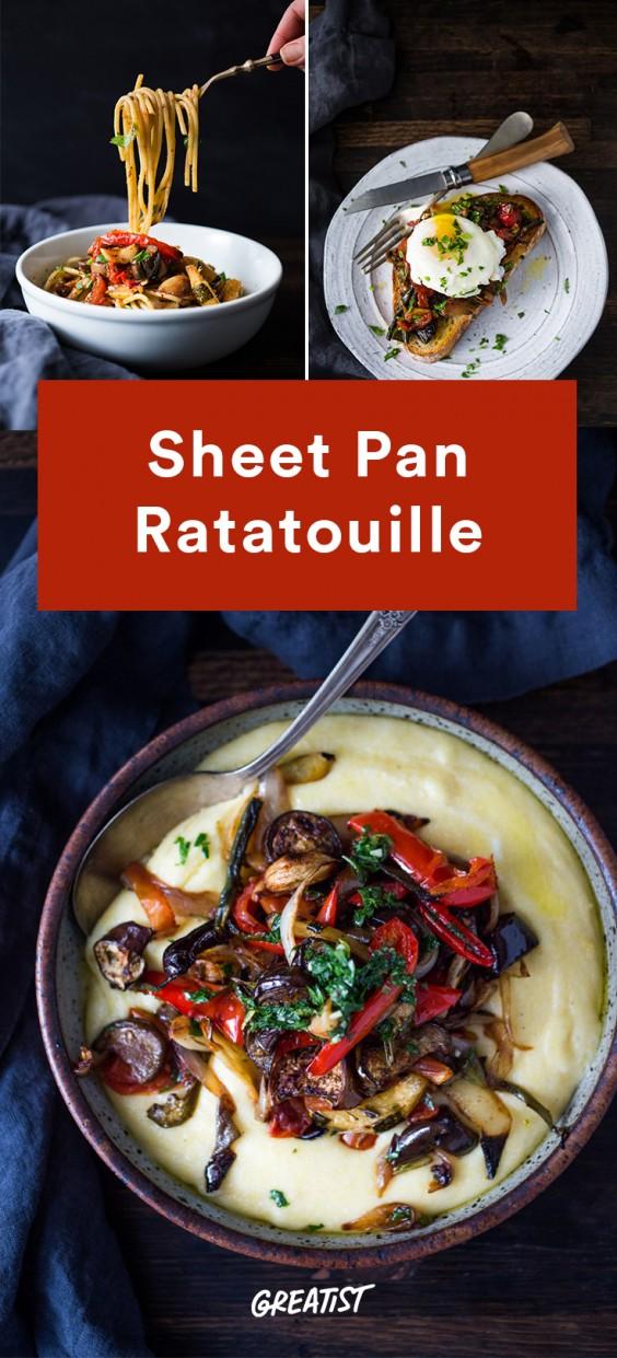Sheet Pan Ratatouille Recipe