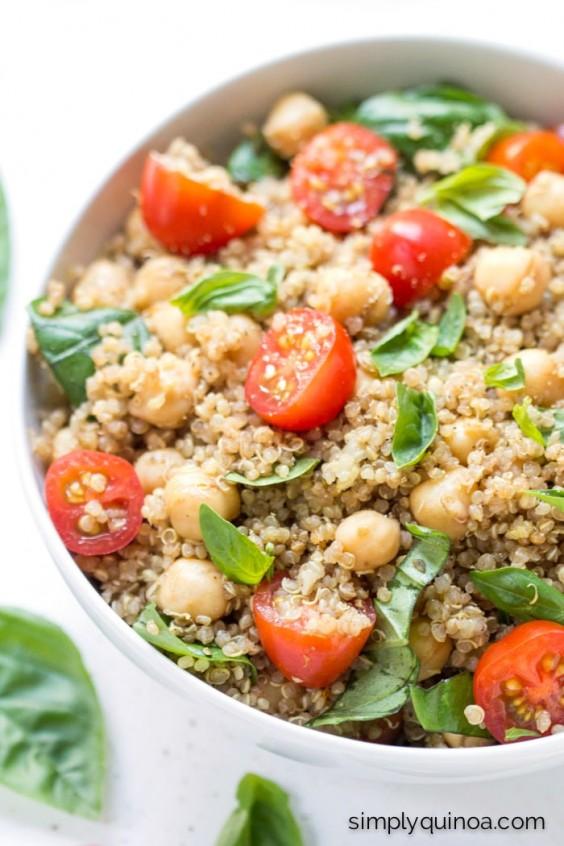 21 Caprese Quinoa Salad