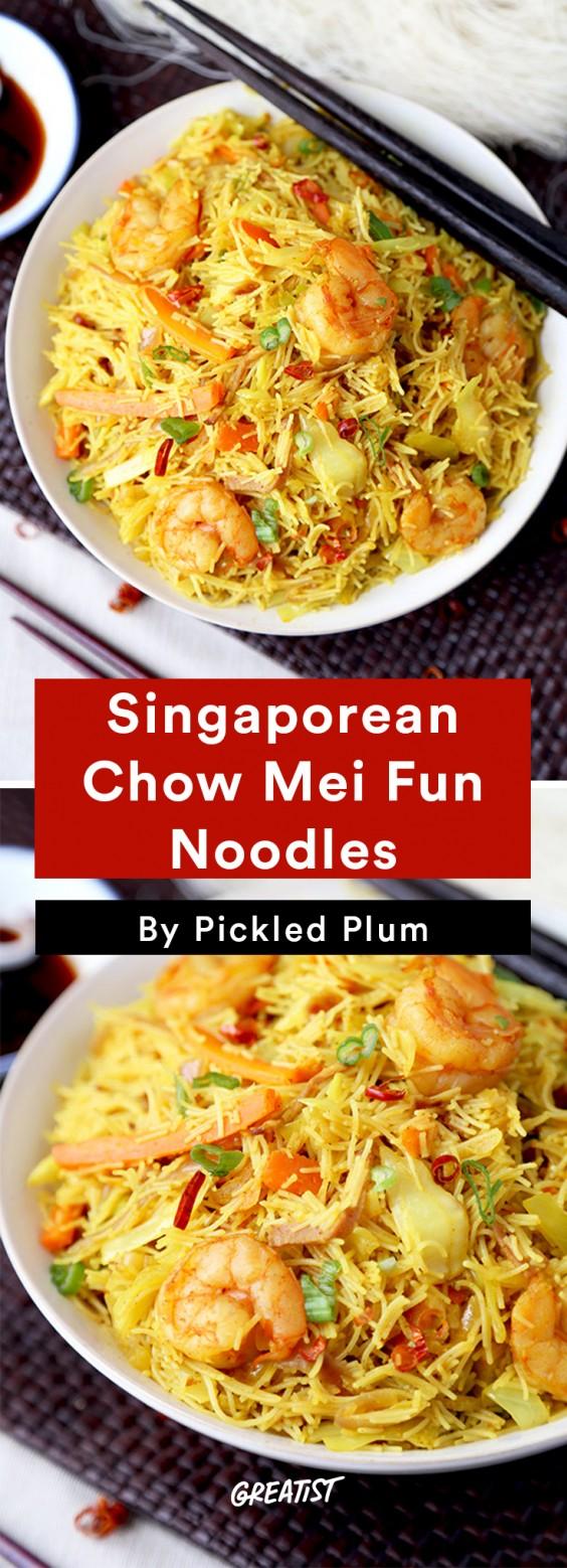 Pickled Plum: Chow Mei Fun