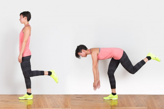 Bodyweight Exercise: Single Leg Deadlift