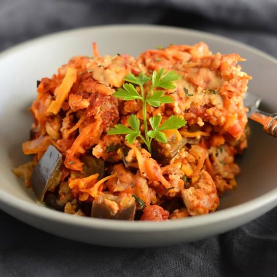 Paleo Dinners: Turkey Sweet Potato Casserole