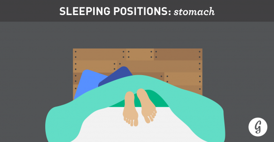 the best and worst positions for sleeping stomach sleepers