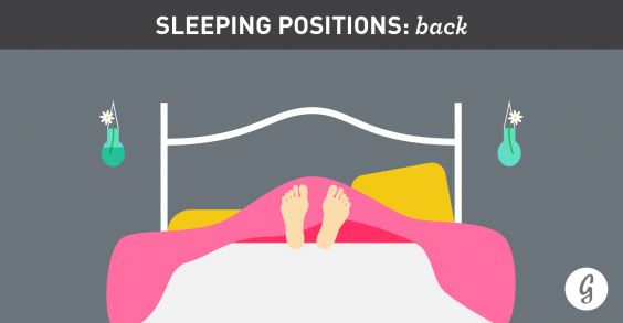 the best and worst positions for sleeping back sleepers