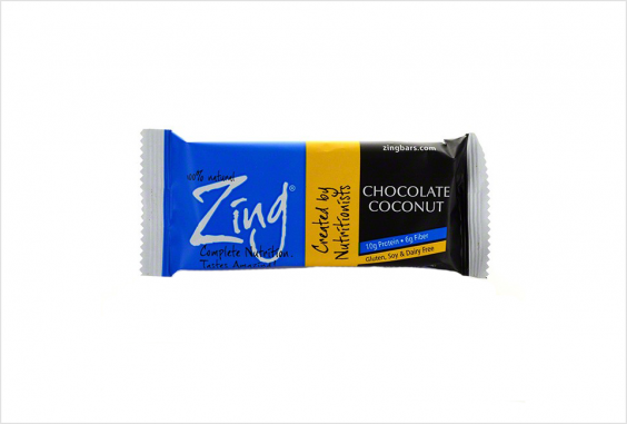 Zing Chocolate Coconut Single Bar