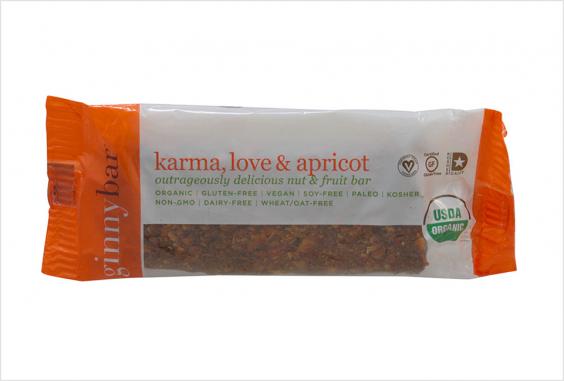 Ginnybakes Karma, Love, and Apricot Ginnybar
