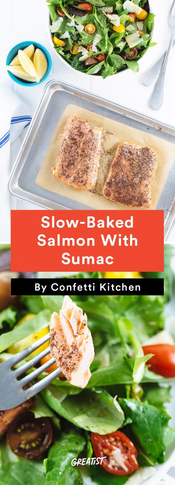 confetti kitchen: Salmon With Sumac
