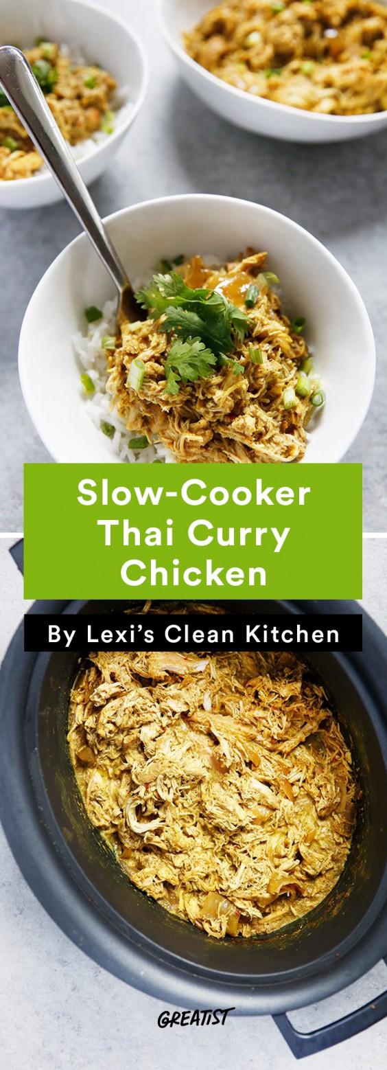 Lexi's Clean Kitchen Thai Curry Chicken