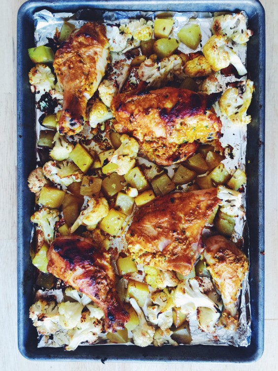 Sheet Pan Chicken Tikka