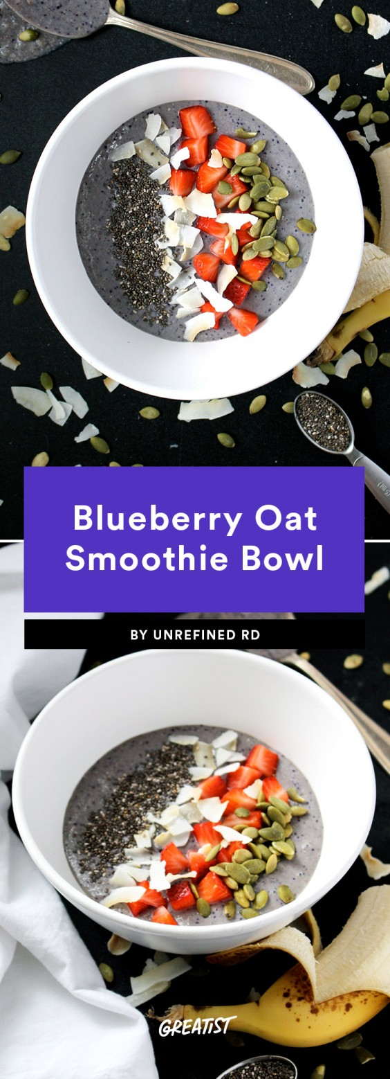 Smoatmeal: Blueberry Oat