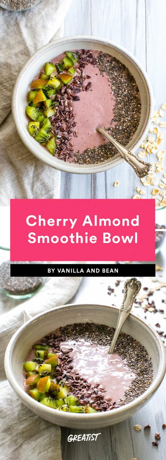 Smoatmeal: Cherry Almond