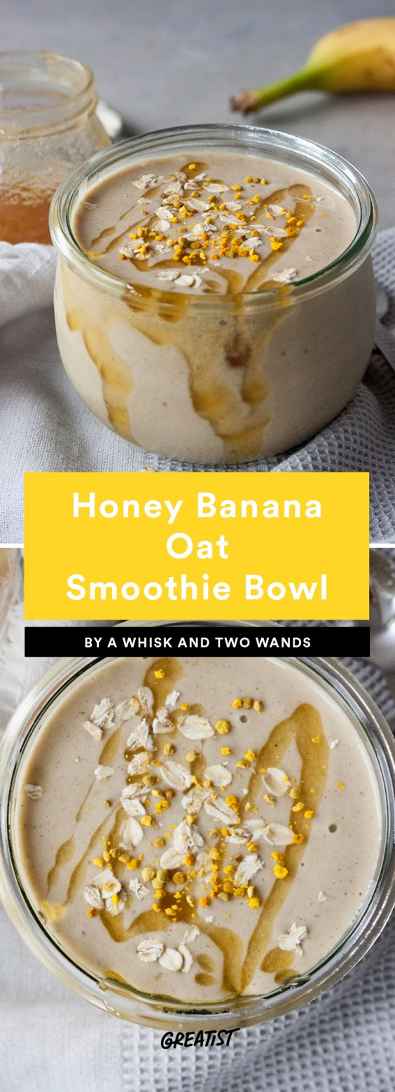 Smoatmeal: Honey Banana