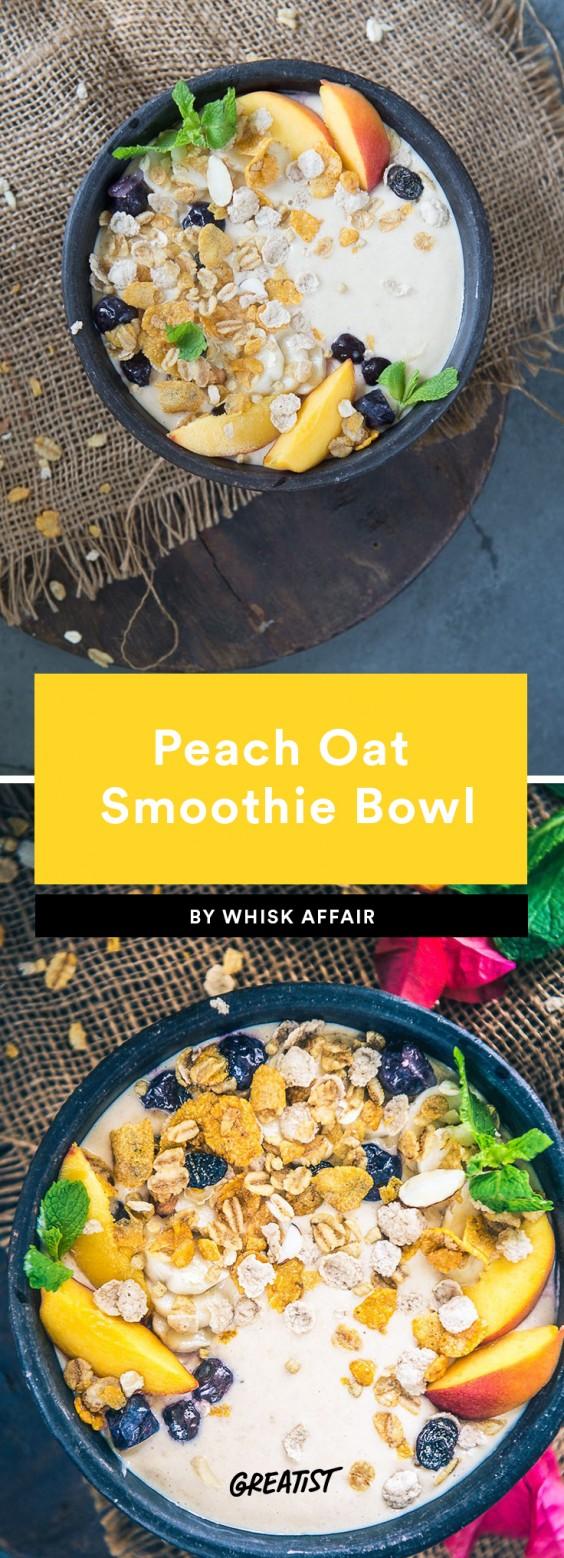 Smoatmeal: Peach Oat