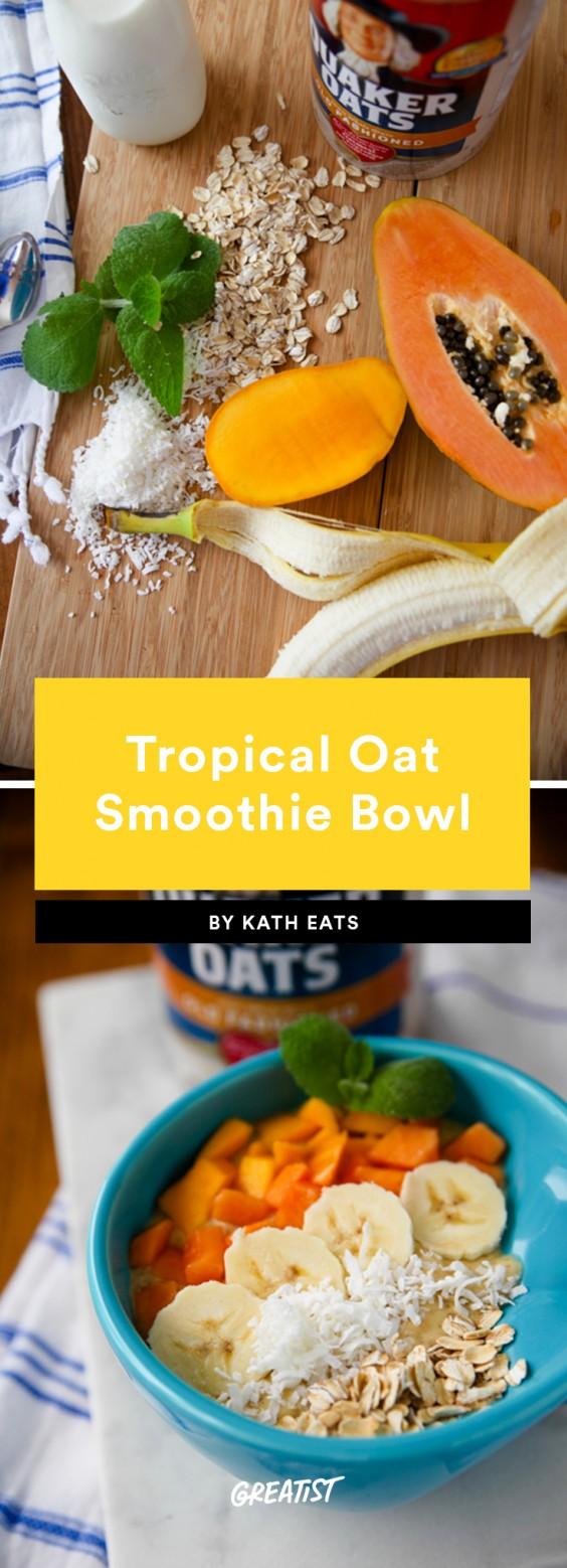Smoatmeal: tropical