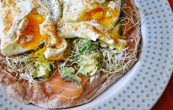 Healthy Recipe Smoked Salmon And Egg Tortilla