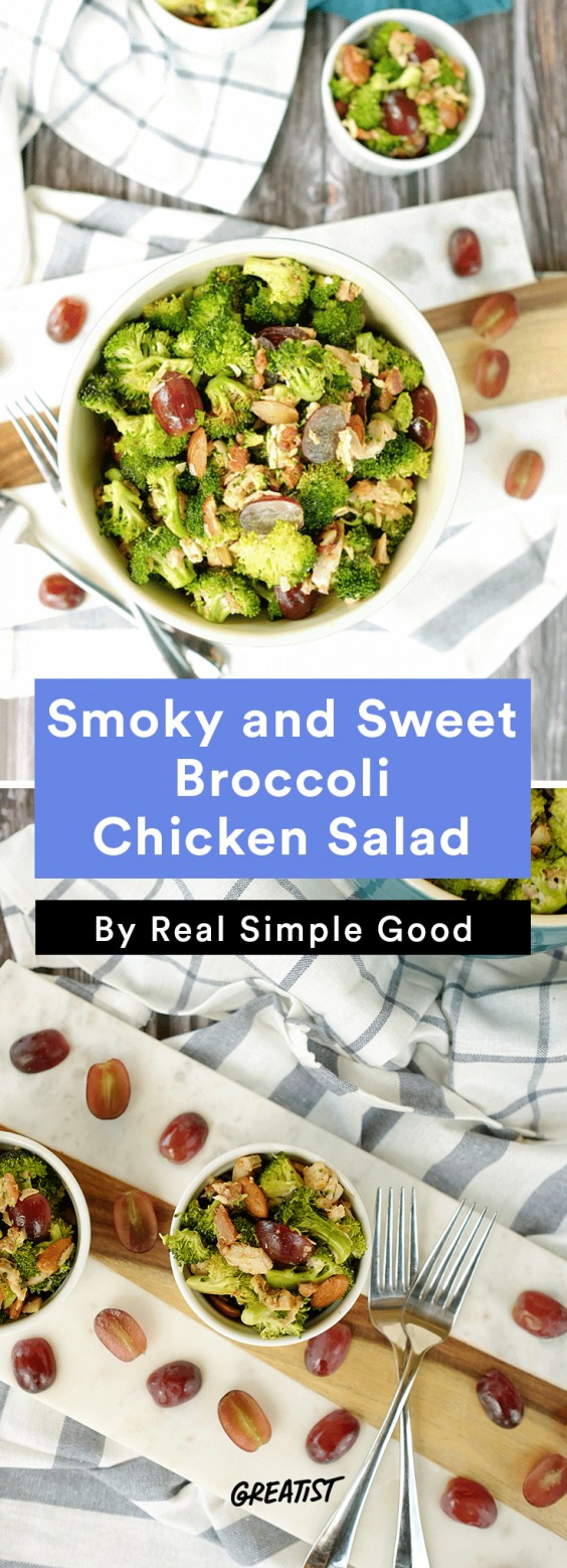 Real Simple Good Dinner: Broccoli Chicken Salad