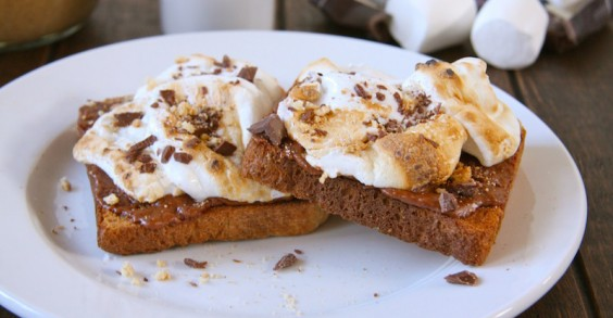 You don't need a campfire for these s'mores!