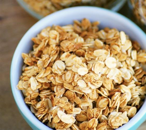 Homemade Granola Recipes: Healthy Homemade Vanilla Honey Granola