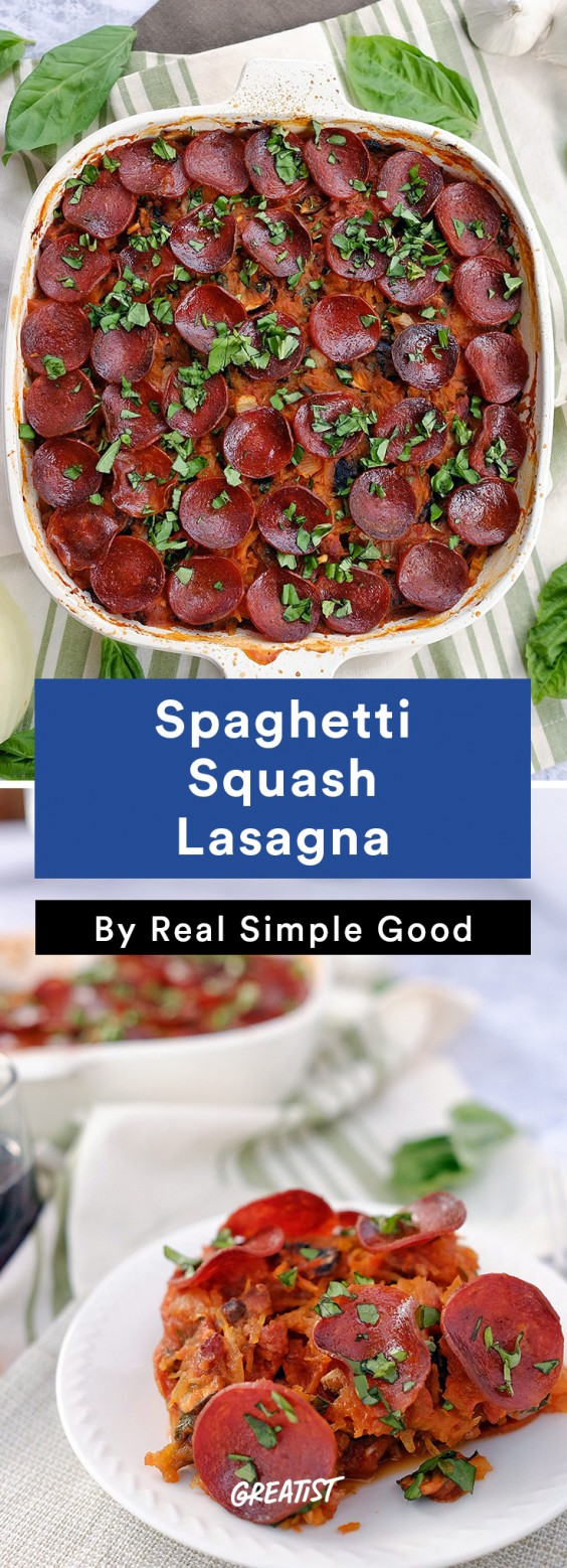 Real Simple Good Dinner: Lasagna