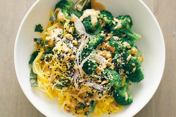 Spaghetti Squash Noodle Bowl Recipe