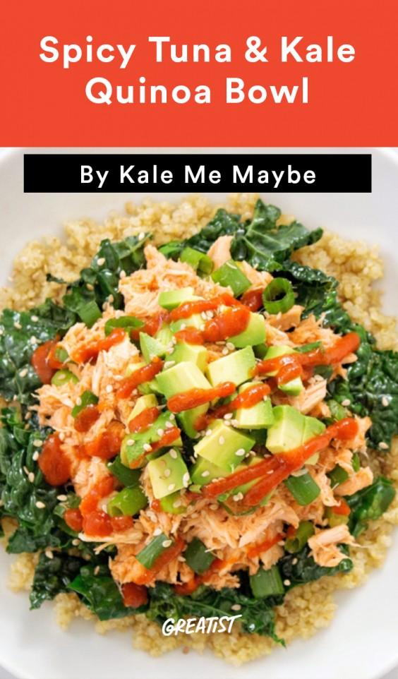 Spicy Tuna Kale Banner