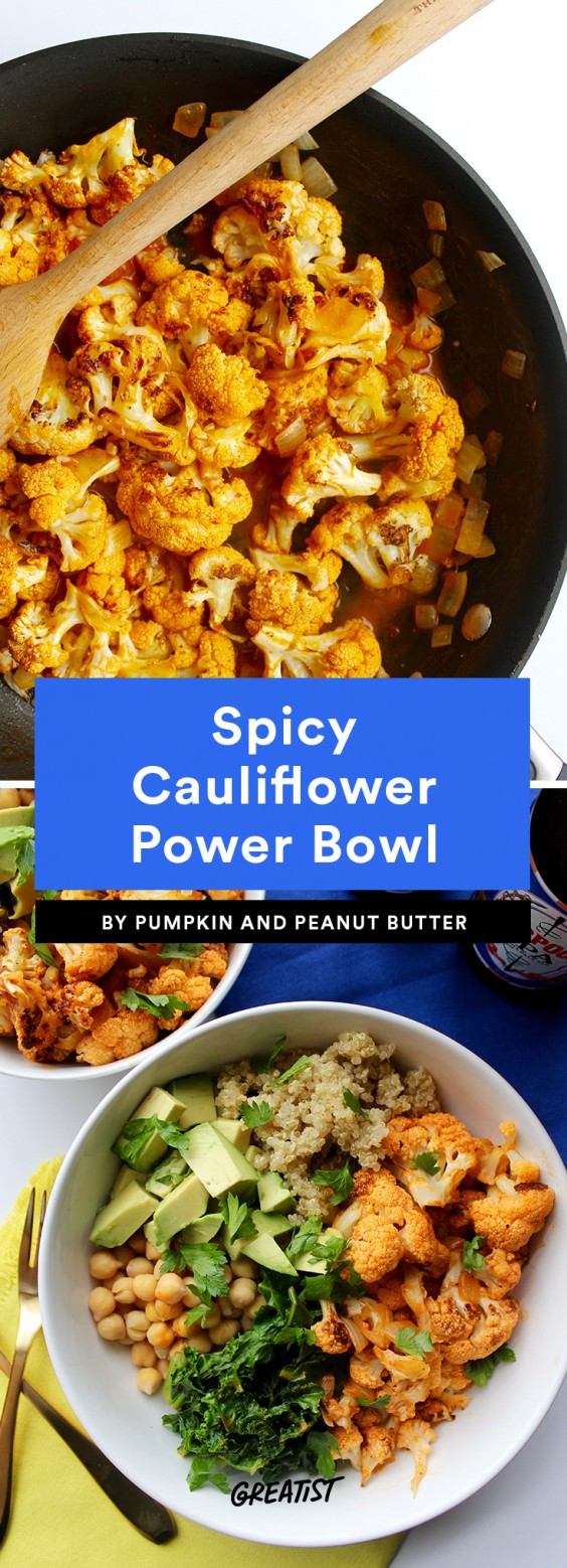 Spicy Cauliflower Power Bowl Recipe