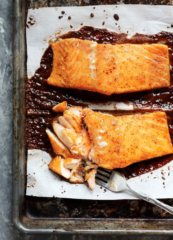 Cooking For Two: Spicy Maple Glazed Salmon Recipe