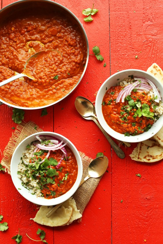 Curries under 10: Red Lentil