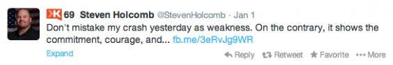 Steven Holcomb