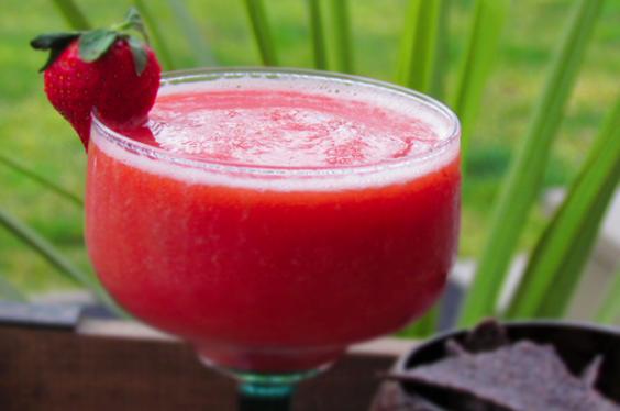 18. Strawberry Margarita Mocktail