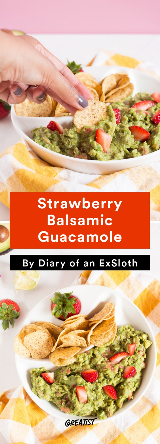 ExSloth roundup: Strawberry Balsamic Guacamole
