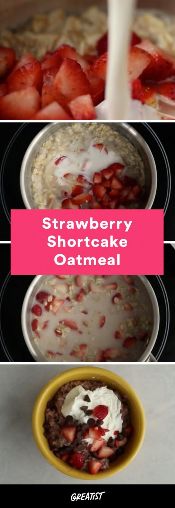 video: strawberry oatmeal